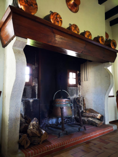 Dining room main fireplace